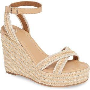 BP - Gabby Woven Wedge Sandal/Natural Woven/9M